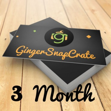 3 Month Membership Gift for the Crate