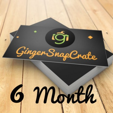 6 Month Membership Gift for the Crate